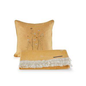 купить Покрывало пике с подушками Penelope Daisy