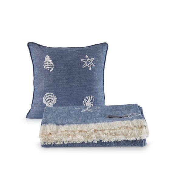 купить Покрывало пике с подушками Penelope Marin