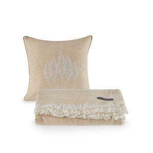купить Покрывало пике с подушками Penelope Nature