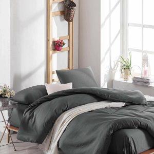 купить Постельное белье Eponj Home Paint D.Boya Fume Серый фото