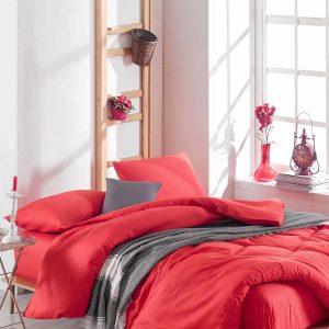 купить Постельное белье Eponj Home Paint D.Boya Kirmizi Красный фото