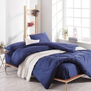 купить Постельное белье Eponj Home Paint D.Boya Lacivert Синий фото