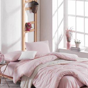 купить Постельное белье Eponj Home Paint D.Boya Pudra Розовый фото