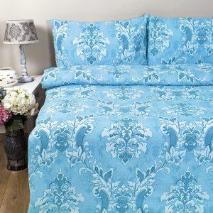 купить Постельное белье Iris Home Ranforce Bahar Голубой фото