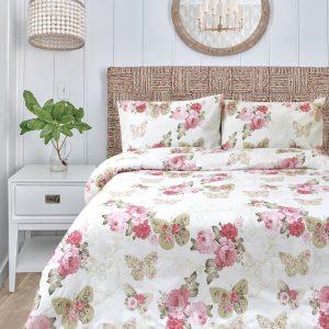 купить Постельное белье Iris Home Ranforce Diana Розовый Розовый фото