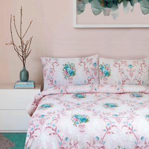 купить Постельное белье Iris Home Ranforce Flavor Розовый Розовый фото