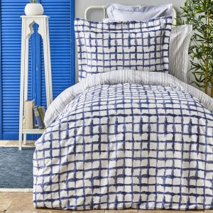 купить Постельное белье Karaca Home Malavi mavi Синий фото