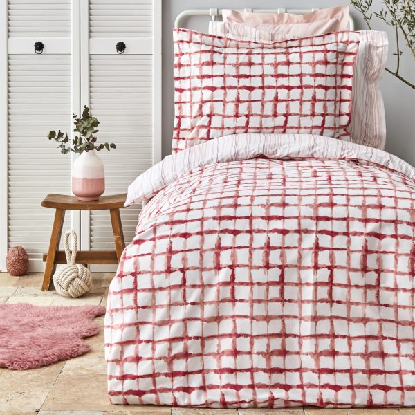 купить Постельное белье Karaca Home Malavi somon Красный фото