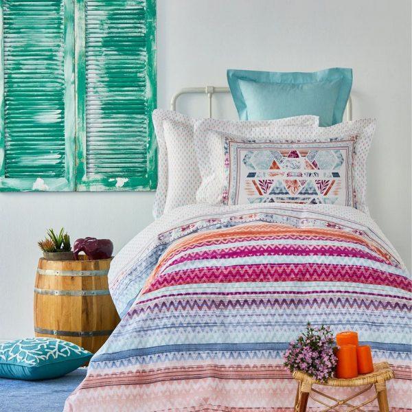 купить Постельное белье Karaca Home Moddy mavi Голубой фото