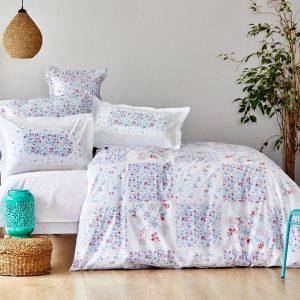 купить Постельное белье Karaca Home ранфорс Elenie lila Голубой фото