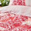 купить Постельное белье Karaca Home ранфорс Pietra kirmizi Красный фото 110933