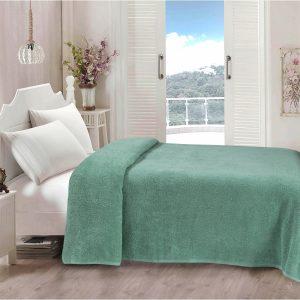 купить Простынь Iris Home махровая Malahite green 190*220