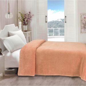купить Простынь Iris Home махровая Peach