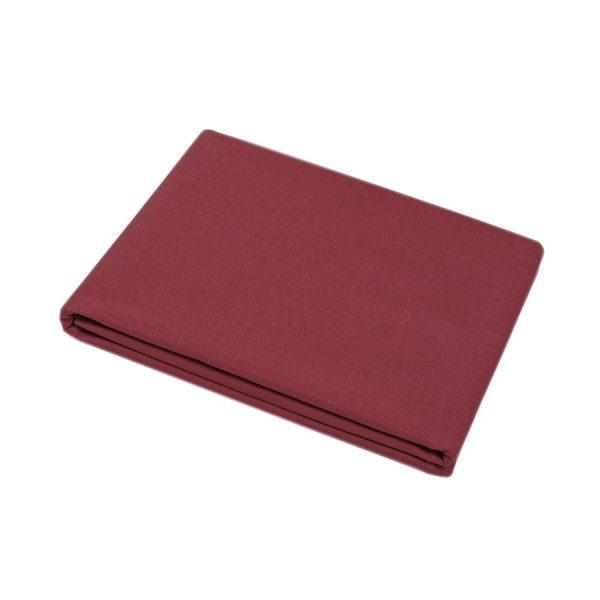 купить Простынь Iris Home premium ранфорс Бордовый 220*240