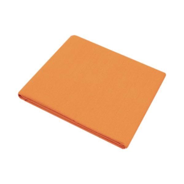 купить Простынь Iris Home premium ранфорс Оранжевый