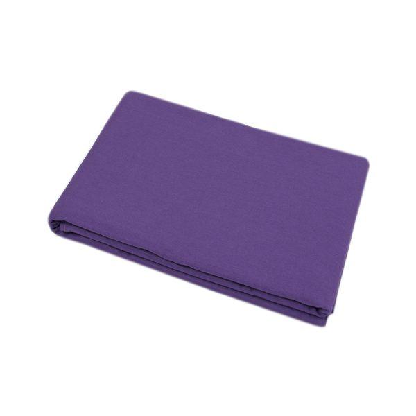 купить Простынь Iris Home premium ранфорс Темно-фиолетовый 220*240