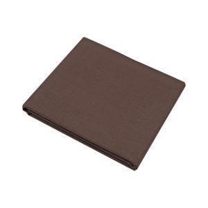 купить Простынь Iris Home premium ранфорс Темно-коричневый 180*215