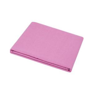 купить Простынь Iris Home premium ранфорс Темно-розовый