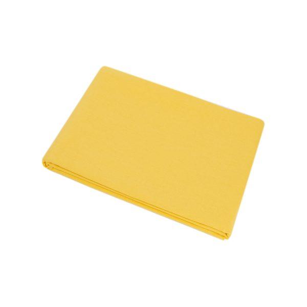 купить Простынь Iris Home premium ранфорс Ярко-желтый