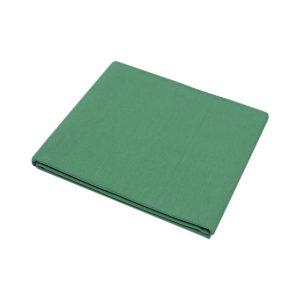купить Простынь Iris Home premium ранфорс Зеленый