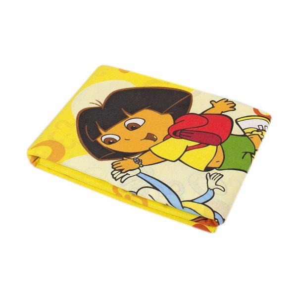 купить Простынь Iris Home ранфорс для подростков Dora sari желтый 150*210