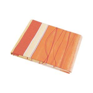 купить Простынь Iris Home ранфорс Mia оранжевый 180*215