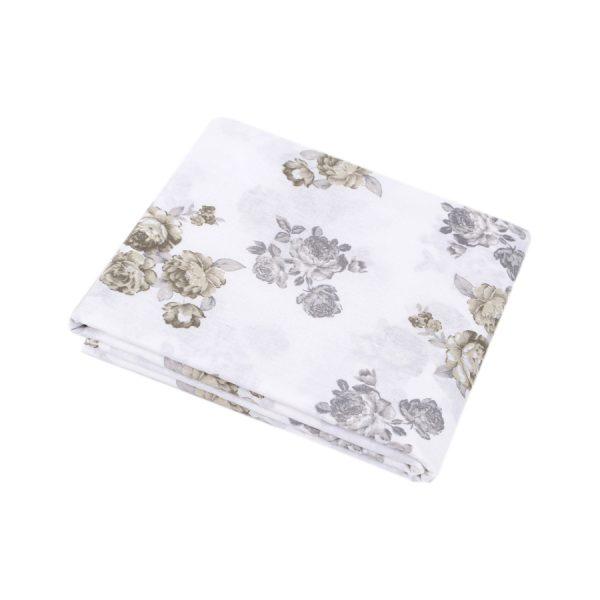 купить Простынь Iris Home ранфорс Patrice серый 220*240