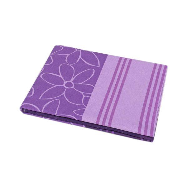 купить Простынь Iris Home ранфорс Stella лиловый 180*215
