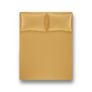 купить Простынь на резинке с наволочками Penelope Laura mustard