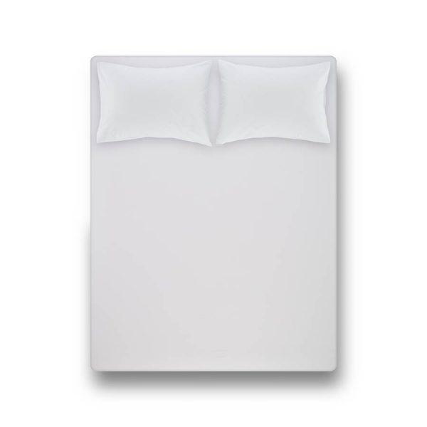 купить Простынь на резинке с наволочками Penelope Laura white