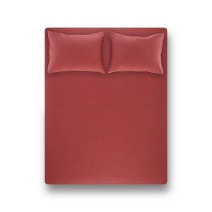 купить Простынь на резинке с наволочкой Penelope Laura coral